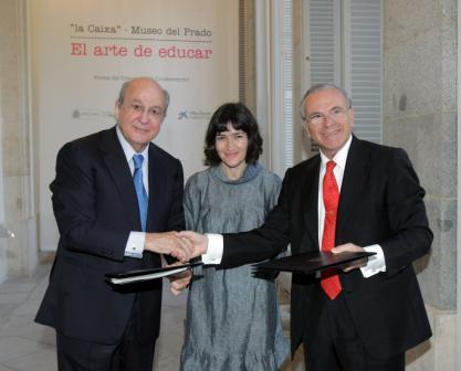 "The Museo del Prado and Obra Social ""la Caixa"" sign a collaborative agreement for the development of an ambitious educational programme"