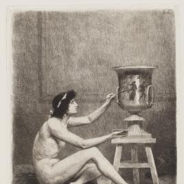 El pintor de vasos