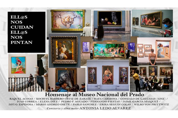 Los vigilantes del Museo Nacional del Prado rinden homenaje a los grandes maestros en una exposición