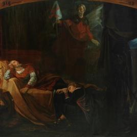 Aparición del Apóstol Santiago al rey don Ramiro I, antes de la Batalla de Clavijo