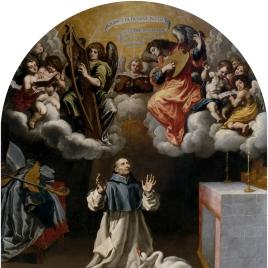 Aparición de ángeles músicos a San Hugo de Lincoln