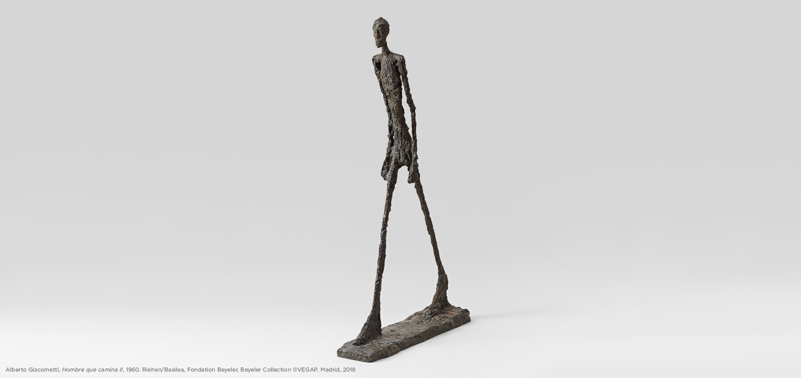 Alberto Giacometti in the Museo del Prado