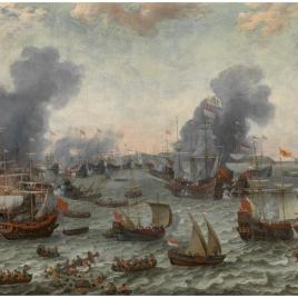 Battle of Gibraltar, 25 April 1607