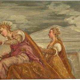 Visita de la reina de Saba a Salomón