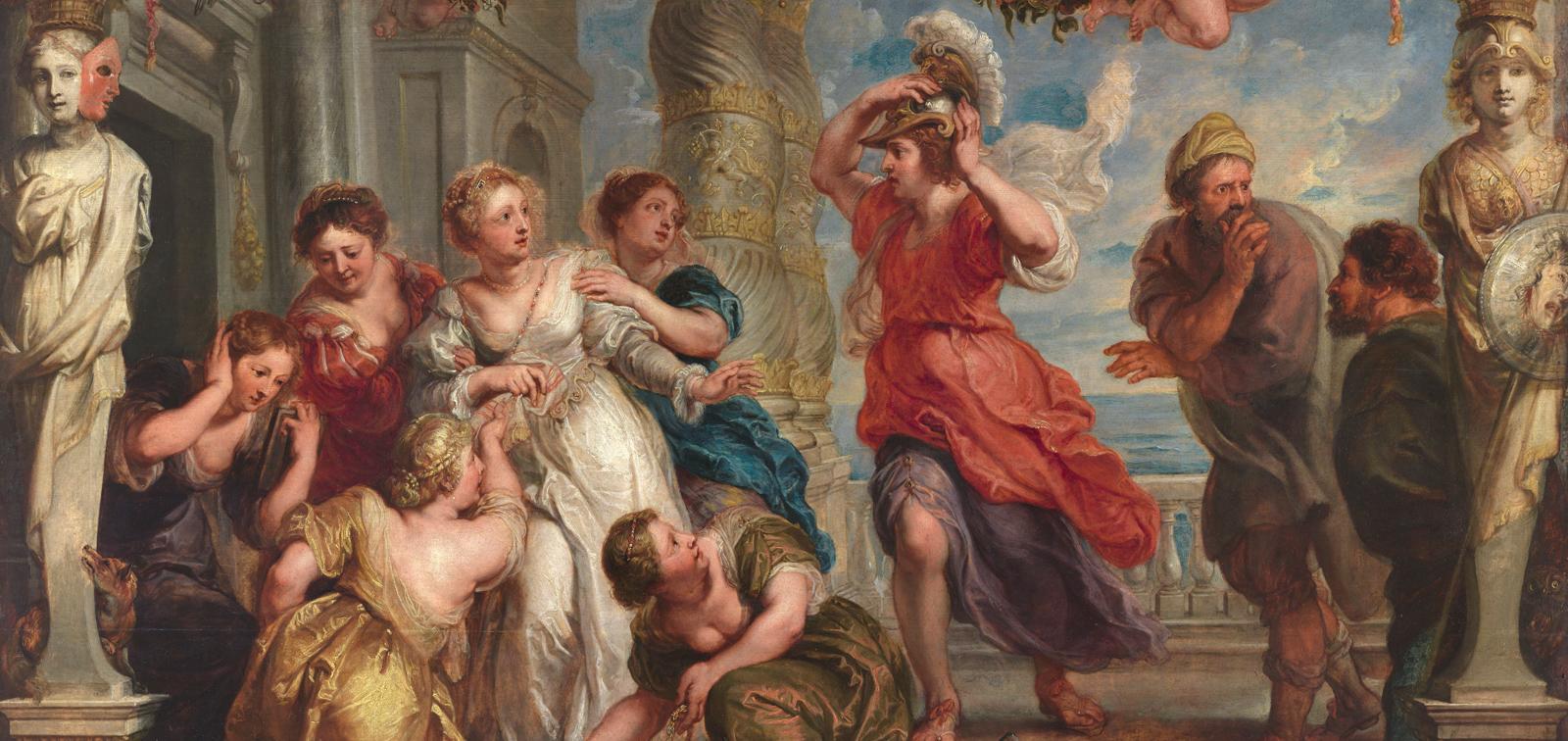 ¿Abozzo, modelo o schetsen? Estudios previos antes de Rubens
