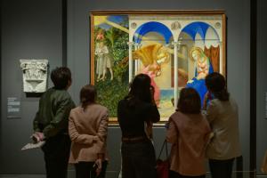"""Más de 100.000 visitantes han podido disfrutar ya de la exposición """"Fra Angelico y los inicios del Renacimiento en Florencia"""""""