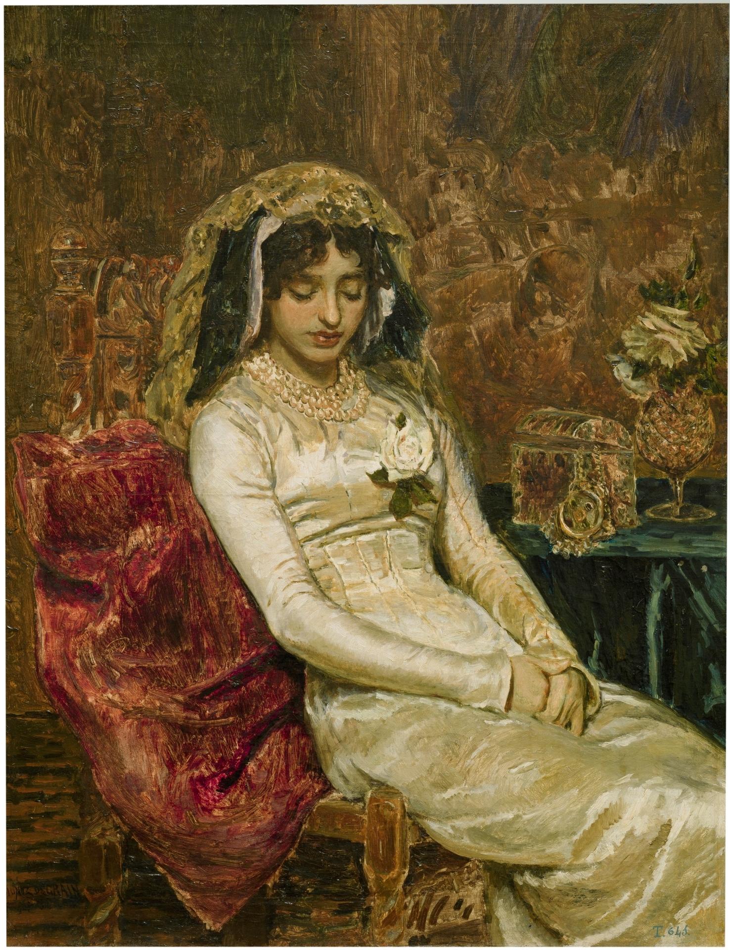 Antes de la boda - Colección - Museo Nacional del Prado