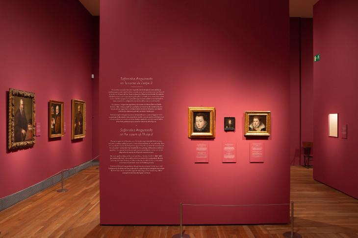 """""""Sofonisba Anguissola y Lavinia Fontana. Historia de dos pintoras"""" ha sido visitada por más de 130.000 personas"""