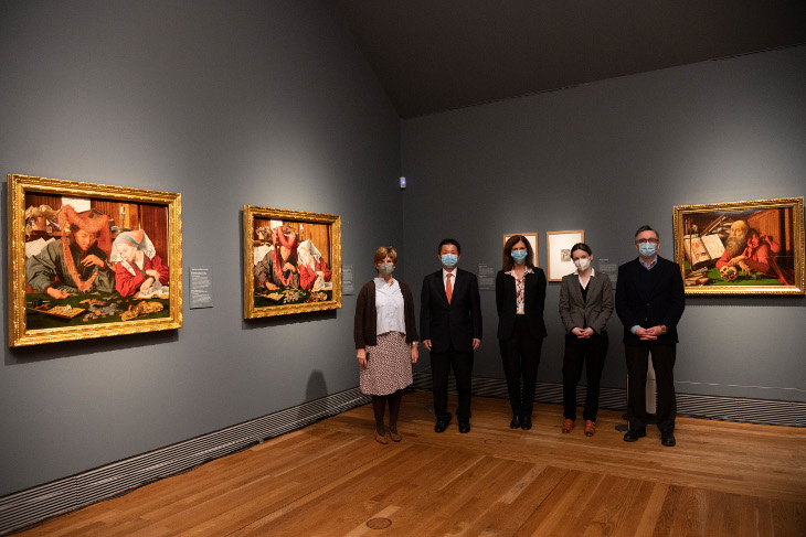 La primera exposición monográfica dedicada a Marinus van Reymerswale abre sus puertas en el Museo Nacional del Prado