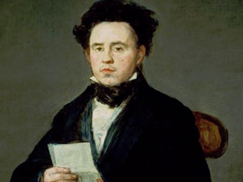 <em>Juan Bautista de  Muguiro</em>, Francisco de Goya y Lucientes, comentada por José Hierro