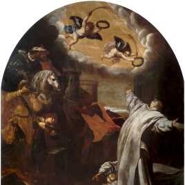The Martyrdom at Roermond of Vinzenz Herck and Jan Van Loewen