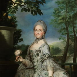 Portrait of Queen María Luisa as Princess of Asturias