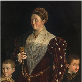 Camilla Gonzaga, Countess of San Secondo, and her Sons
