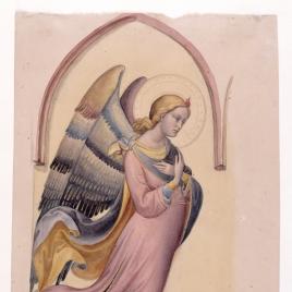 San Gabriel, copia de Lorenzo Monaco