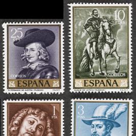 Serie de sellos Rubens