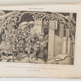 Entrega de Vélez-Málaga, detalle de la sillería del coro de la Catedral de Toledo