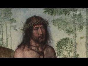 """Commented works: """"Christ seated on the cold Stone"""" by Juan de Flanders"""