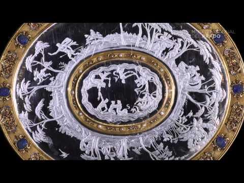 Obras comentadas: Fuente con la historia de Hermafrodito y camafeos de los Doce Césares