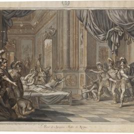 Muerte de Agripina