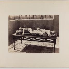 Improntas humanas halladas en Pompeya el 5 de febrero de 1863