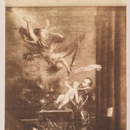 Felipe II ofreciendo al cielo al infante don Fernando