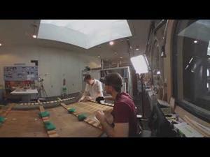 Taller de restauración de soporte en madera en 360º