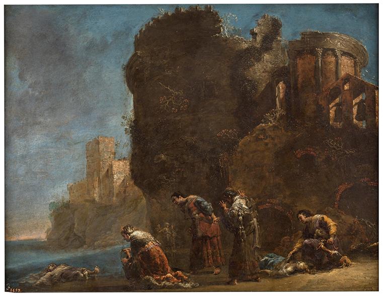Epílogo. Hécuba y sus hijos Políxena y Polidoro