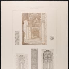 Interior y detalles de San Miguel de Lillo en Oviedo