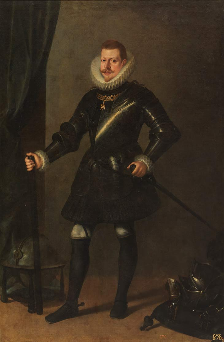 Portrait of Philip III by Velázquez
