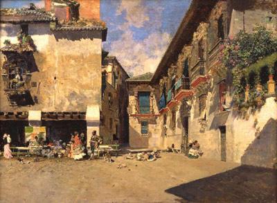 El Ayuntamiento viejo de Granada