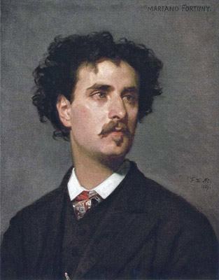 El pintor Mariano Fortuny