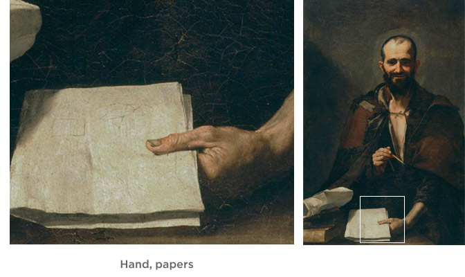 Hand, papers