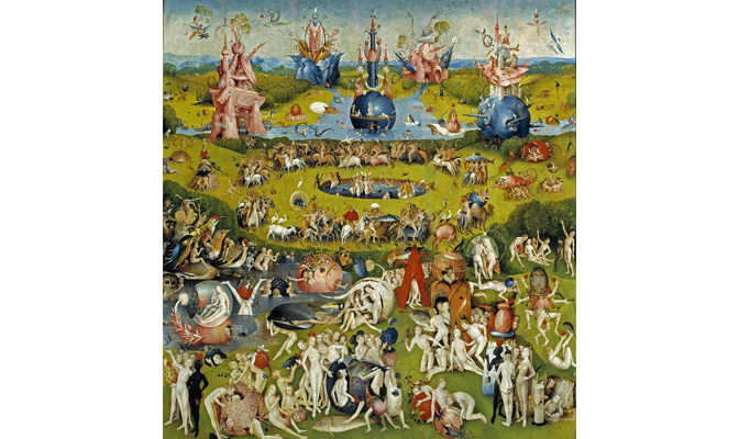 The Garden of Earthly Delights by the painter Bosch