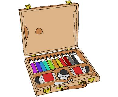 Painter's case