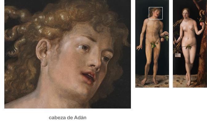 Adan y Eva están desnudos
