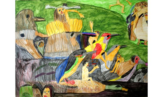 Interpretación de Dani sobre El jardín de las Delicias