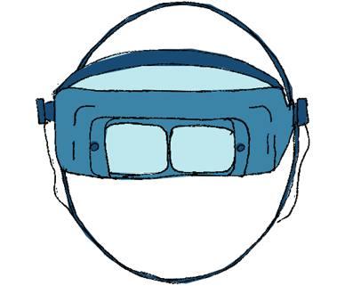 Gafas-lupa