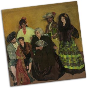 The Family of the Gypsy Bullfighter