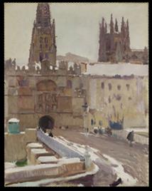 La Catedral y la Puerta de Santa María, Burgos