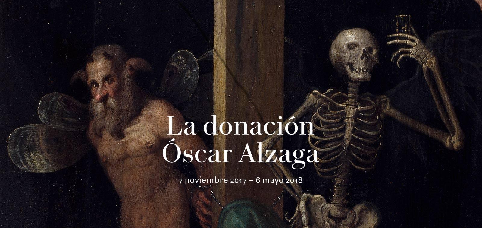 Exposición. La donación Óscar Alzaga