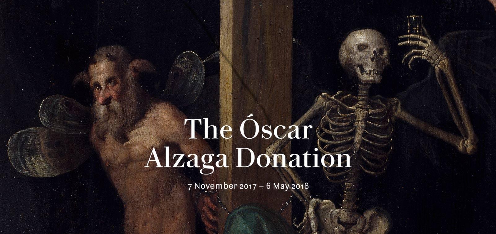 Exhibition. The Óscar Alzaga Donation