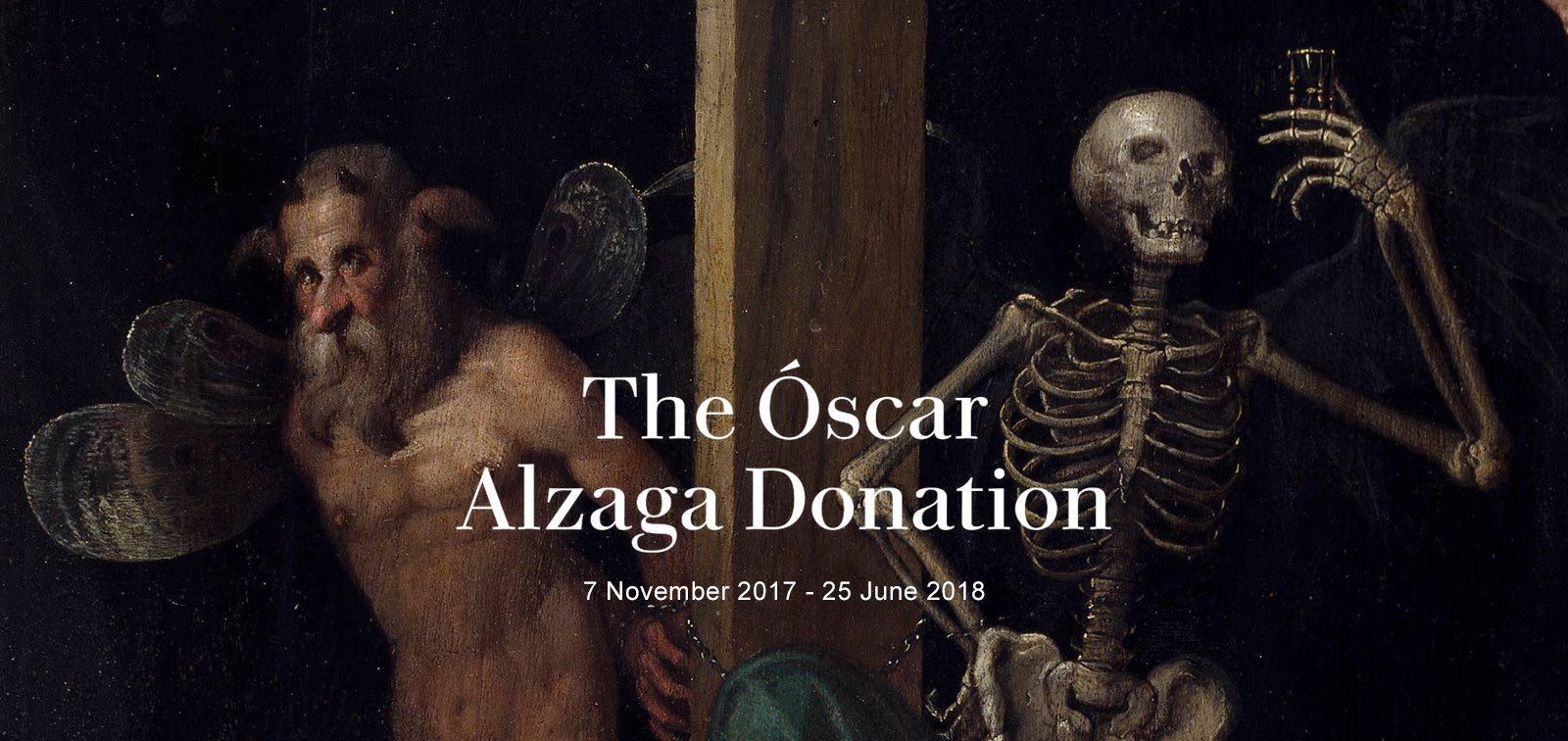 Exhibition. The Óscar Alzaga Donation