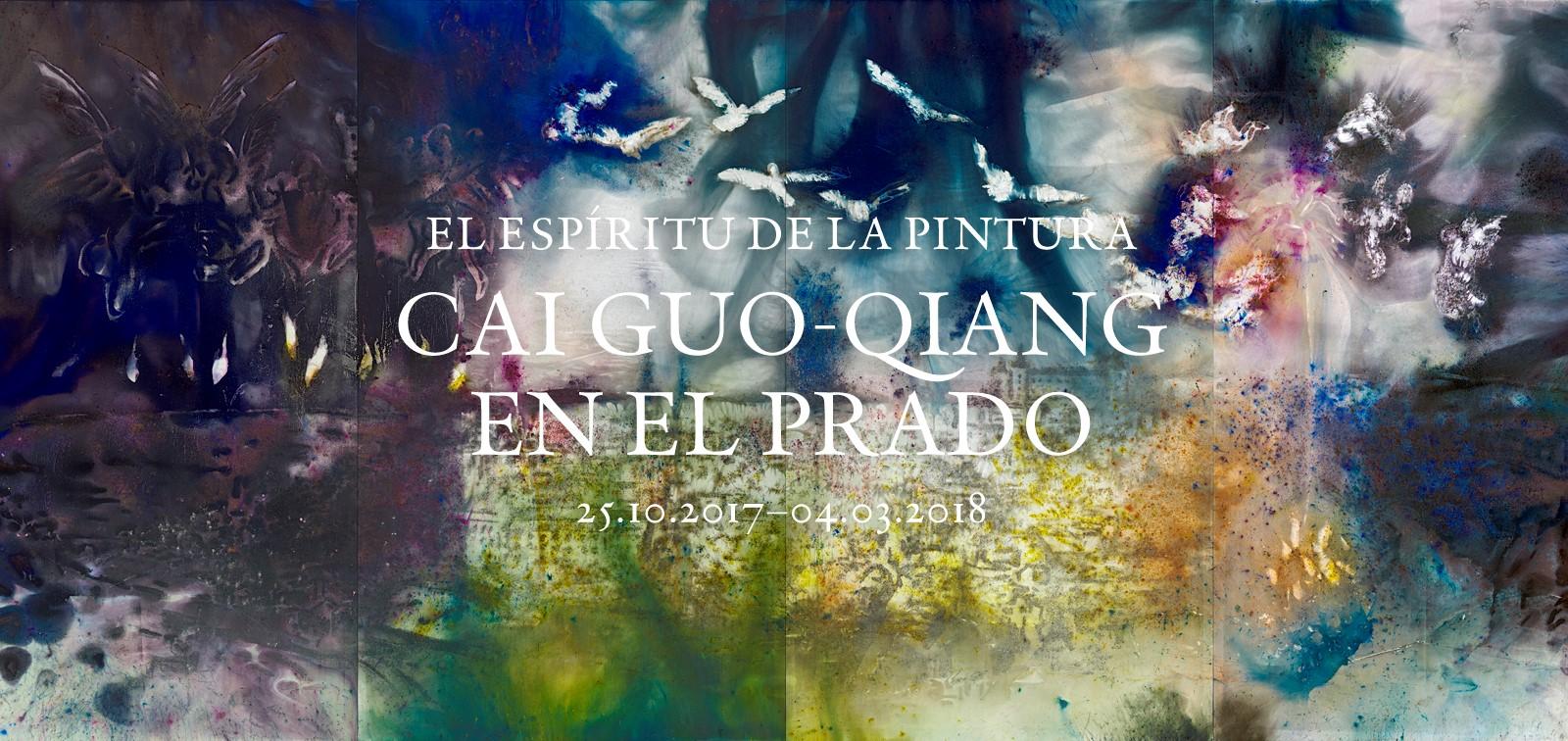 Exposición. El espíritu de la pintura. Cai Guo-Qiang en el Prado