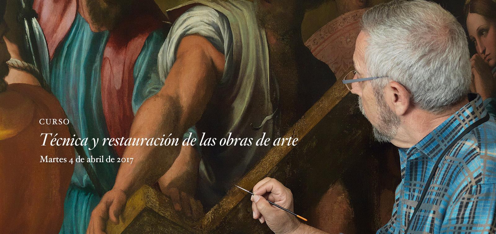 Curso. Técnica y restauración de las obras de arte