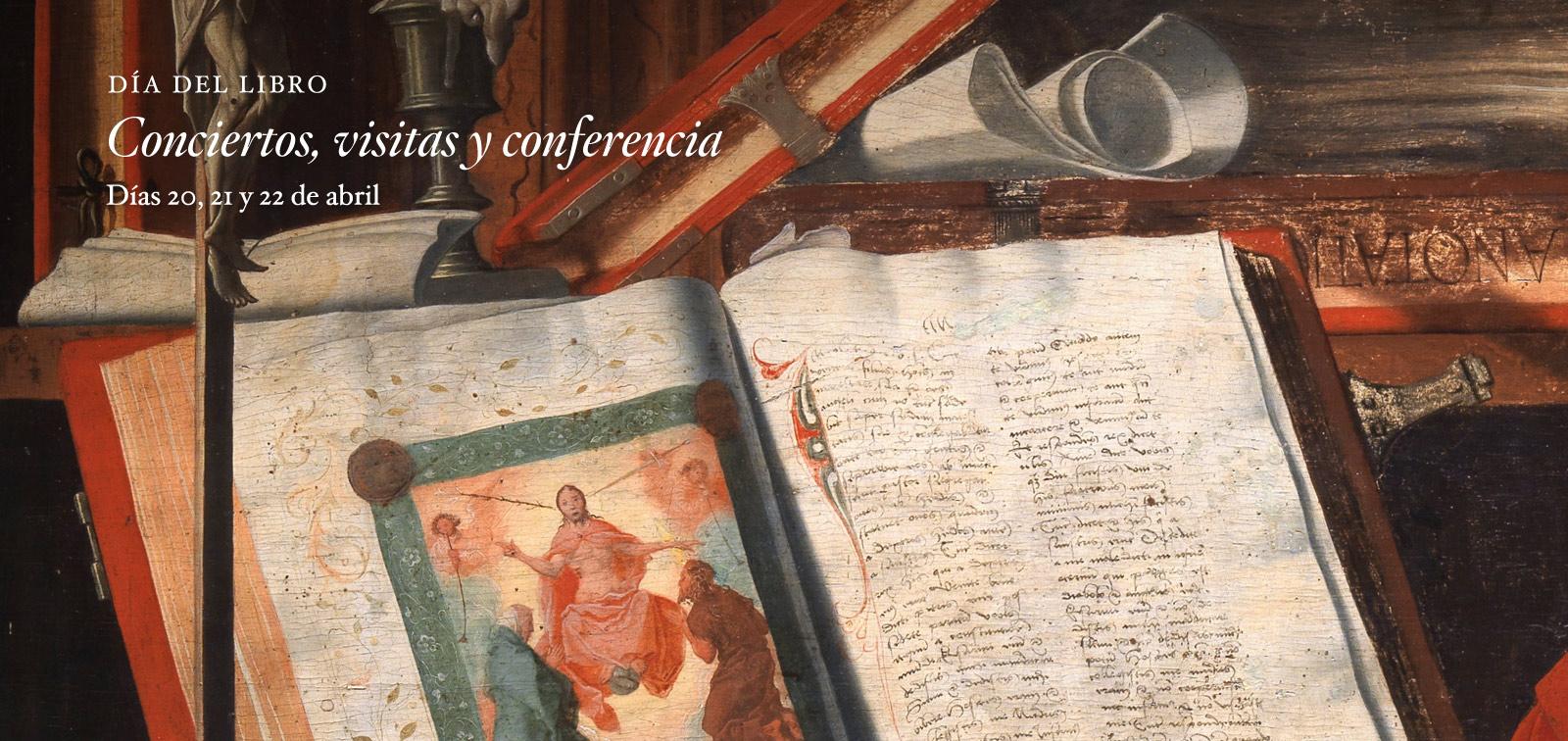 Día del Libro. Conciertos, visitas y conferencia