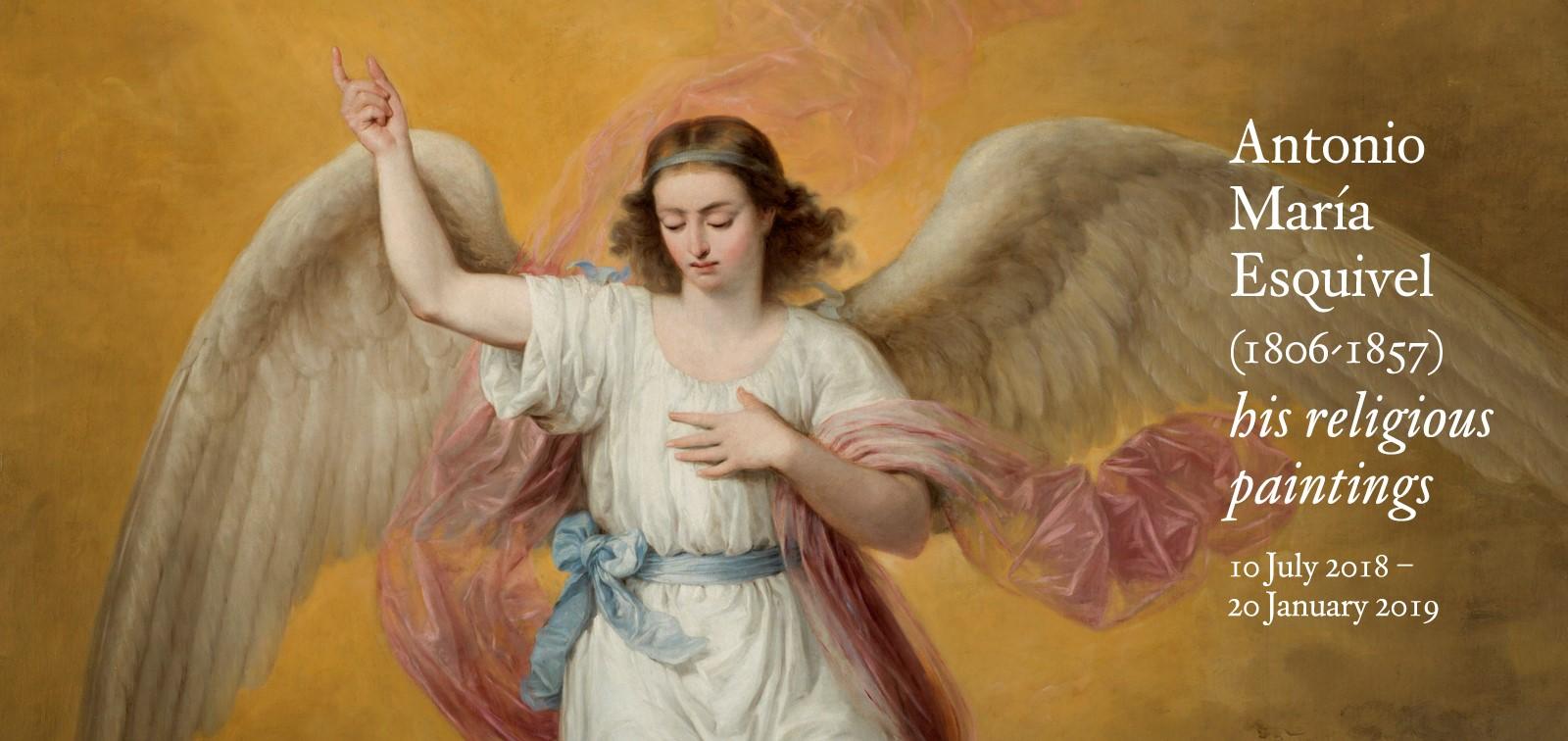 Exhibition. Antonio María Esquivel (1806-1857), his religious paintings