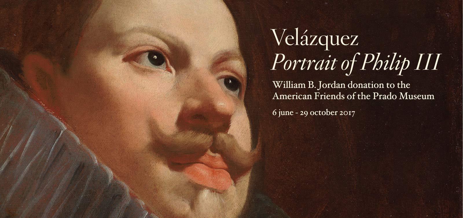 Exhibition. Velázquez, Portrait of Philip III